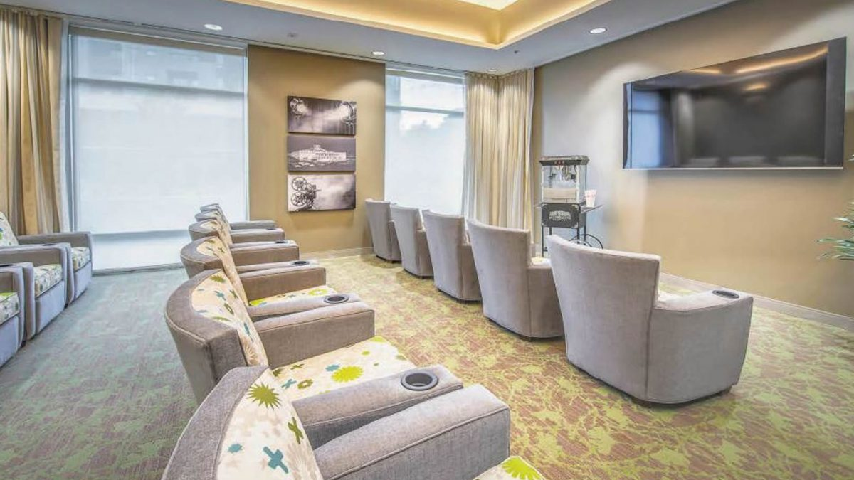 Move theater room