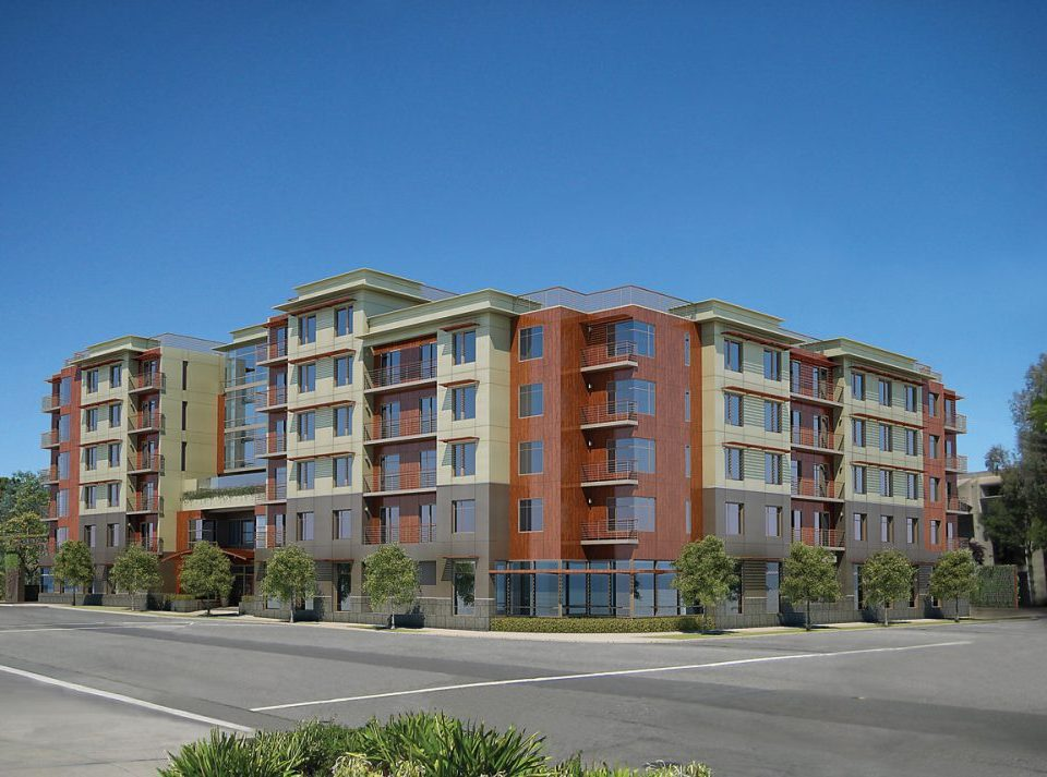 The Trousdale exterior rendering