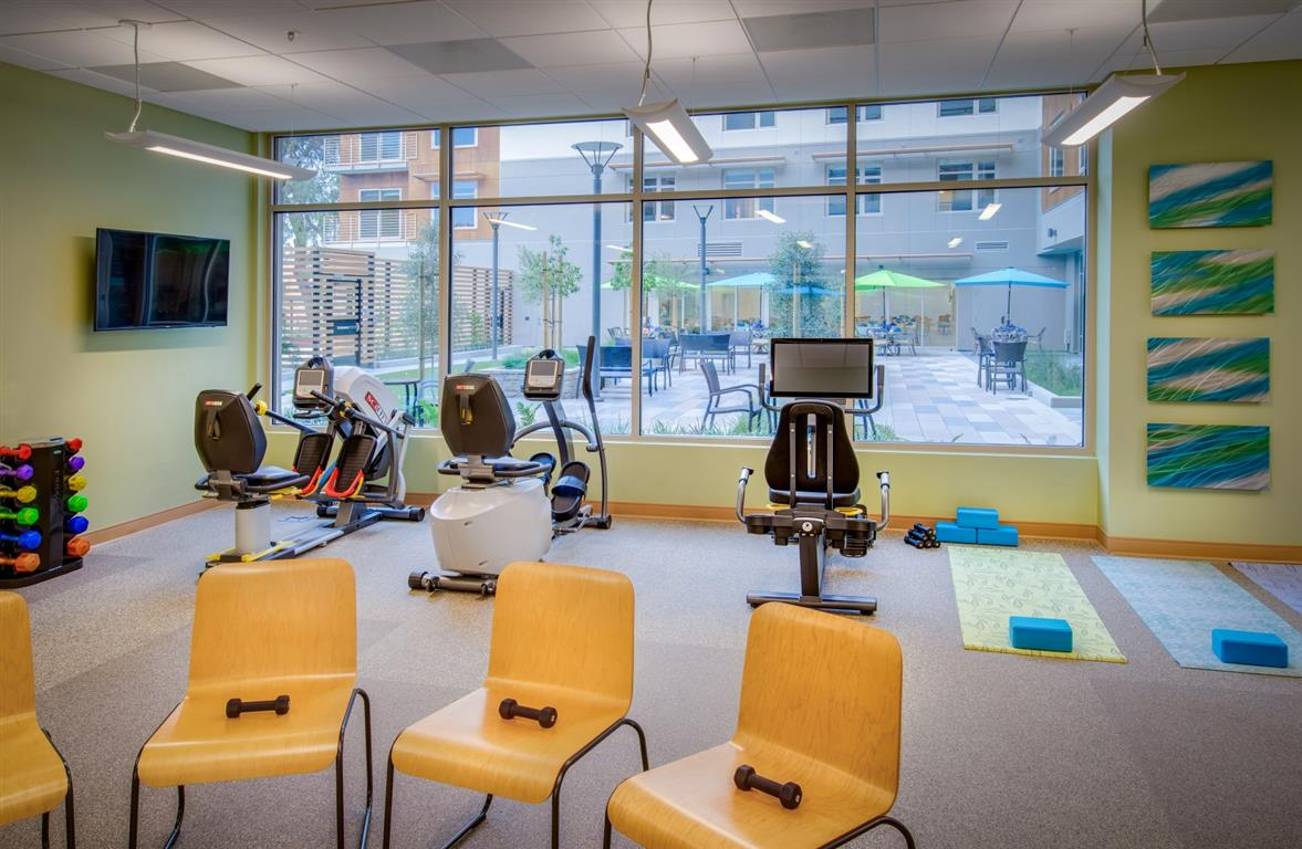 The Trousdale Fitness Room