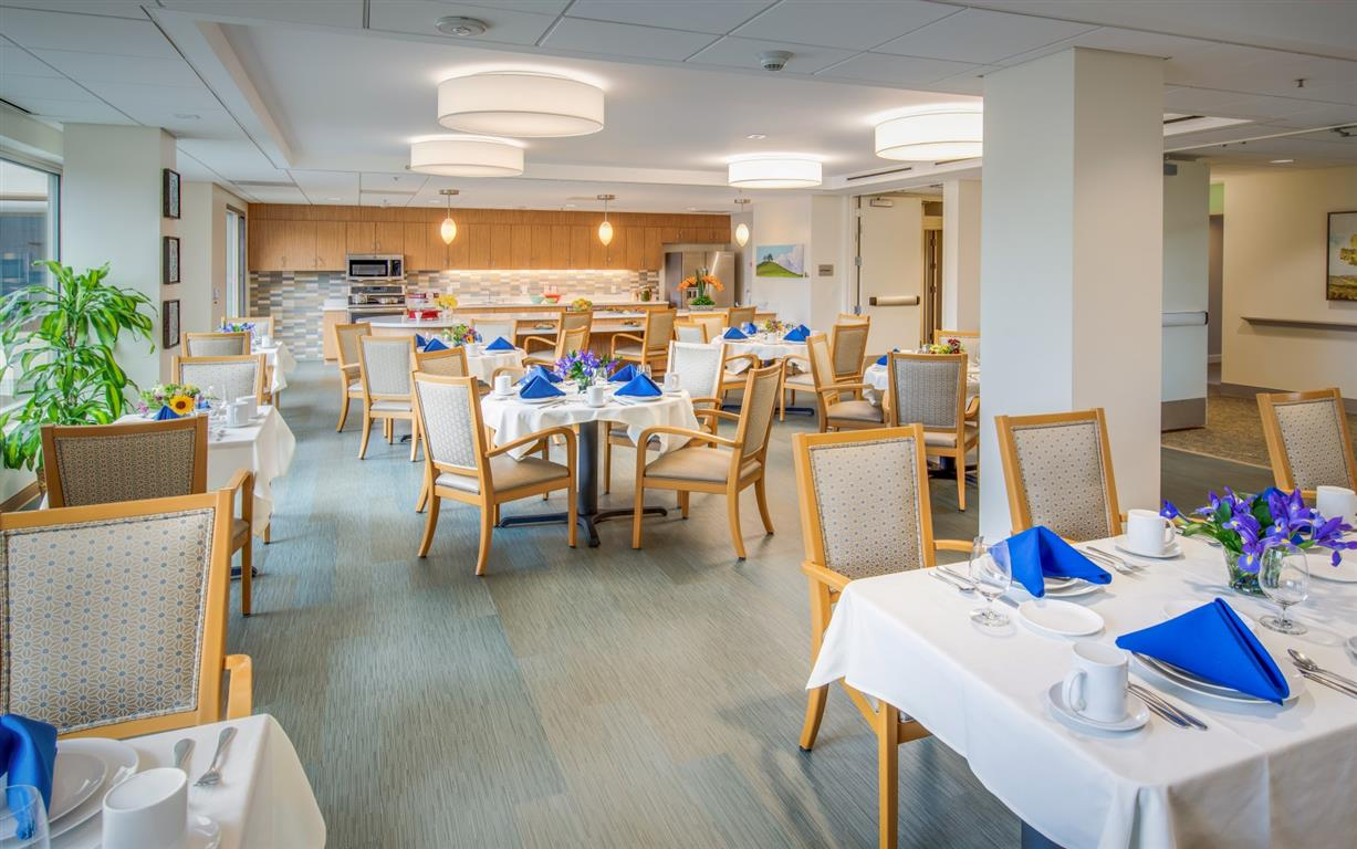 The Trousdale Memory Care Dining Room